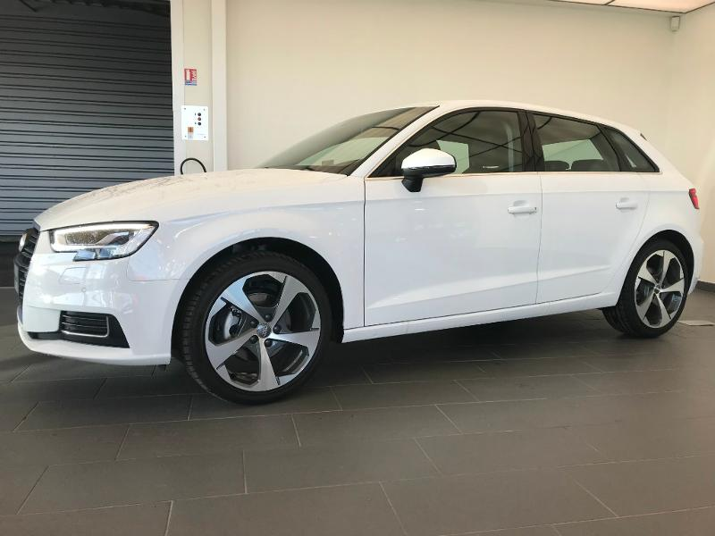 audi a3 sportback 2 0 tdi 150ch design luxe s tronic 7 diesel occasion ref 123 audexia seat. Black Bedroom Furniture Sets. Home Design Ideas